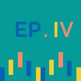 Episode 4 icon with sound wave illustration