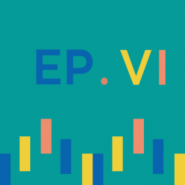 Episode 6 icon with sound wave illustration and Roman numeral 6